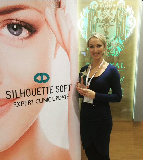Dr Leah crowned best UK Doctor and expert in Silhouette Soft Thread
