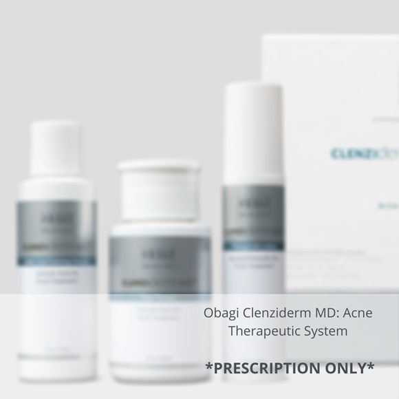 Obagi Clenziderm MD System prescription only